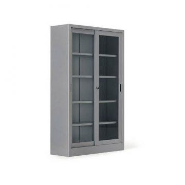 armadio Metallo anta scorrevole vetro temperato