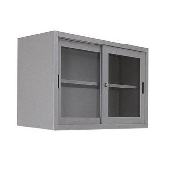 sopralzo Metallo anta scorrevole vetro temperato