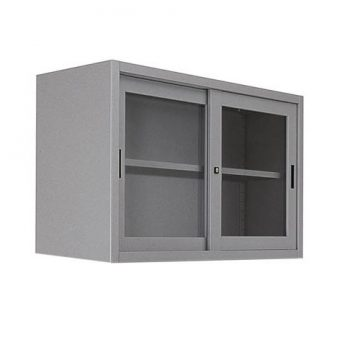 base Metallo anta scorrevole vetro temperato