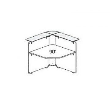 Modulo bancone ANCONA raccordo ad angolo 90° interno