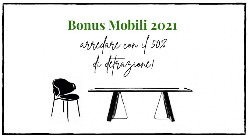 Bonus mobili 2021<